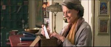 Maggie Smith as Muriel.